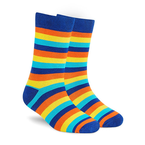 Dynamocks Stripes 8.0 Men & Women crew length socks Image