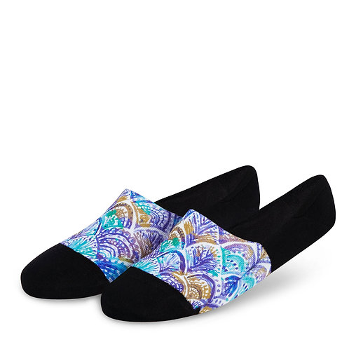 Dynamocks Artistic Invisibles Socks | India | Shells