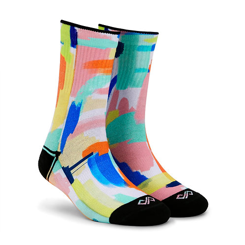 Dynamocks Artistic Socks | India | Fresco Crew Length Socks R