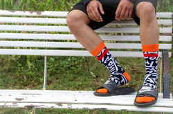 Dynamocks scrawl socks for men & Women