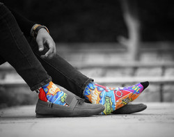 Dynamocks comic crash socks for men & Women