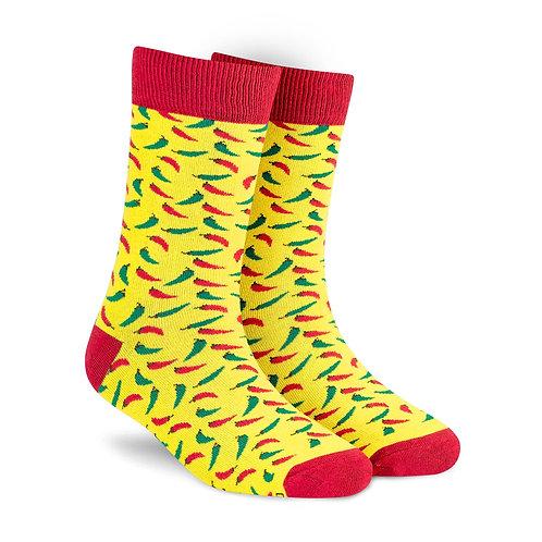 Dynamocks Chillies Men & Women crew length socks Image