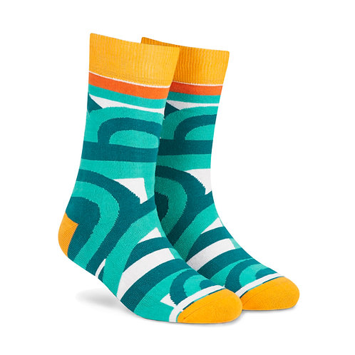 Dynamocks Cotten Excellence Socks | India | Maze Crew Length Socks R