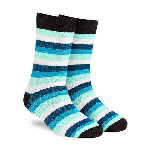 Dynamocks Stripes 7.0 Men & Women crew length socks Image