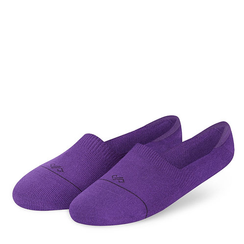 Dynamocks Invisibles Socks | India | Solids Collection | Purple