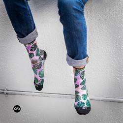 Dynamocks Tropic Men & Women Quarter Ankle Length Socks