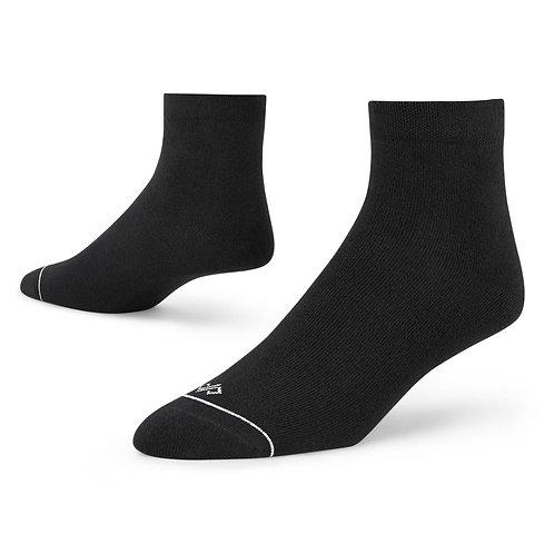 Dynamocks Black ankle length socks for men and women