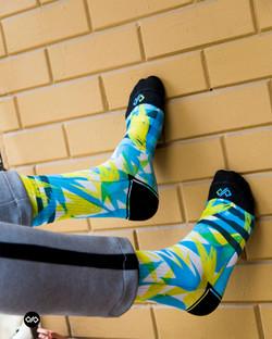 Dynamocks Spring Men & Women Crew Length Socks