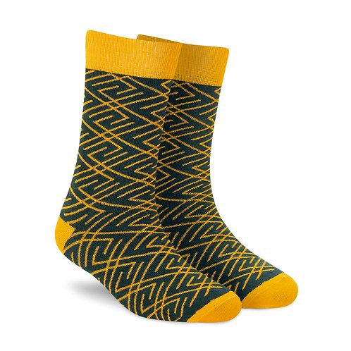 Dynamocks Ace men and women crew length socks