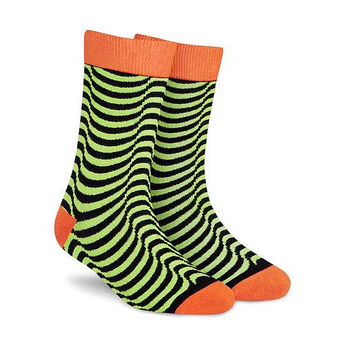 Dynamocks Cotton Excellence Socks | India | Illusion Crew Length Socks R