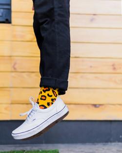 Dynamocks leopard socks for men & Women