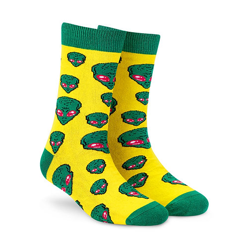 Dynamocks Cotten Excellence Socks | India | Aliens Crew Length Socks R
