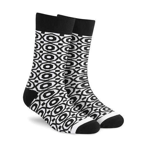 Dynamocks Cotton Excellence Socks | India | Hexa Crew Length Socks
