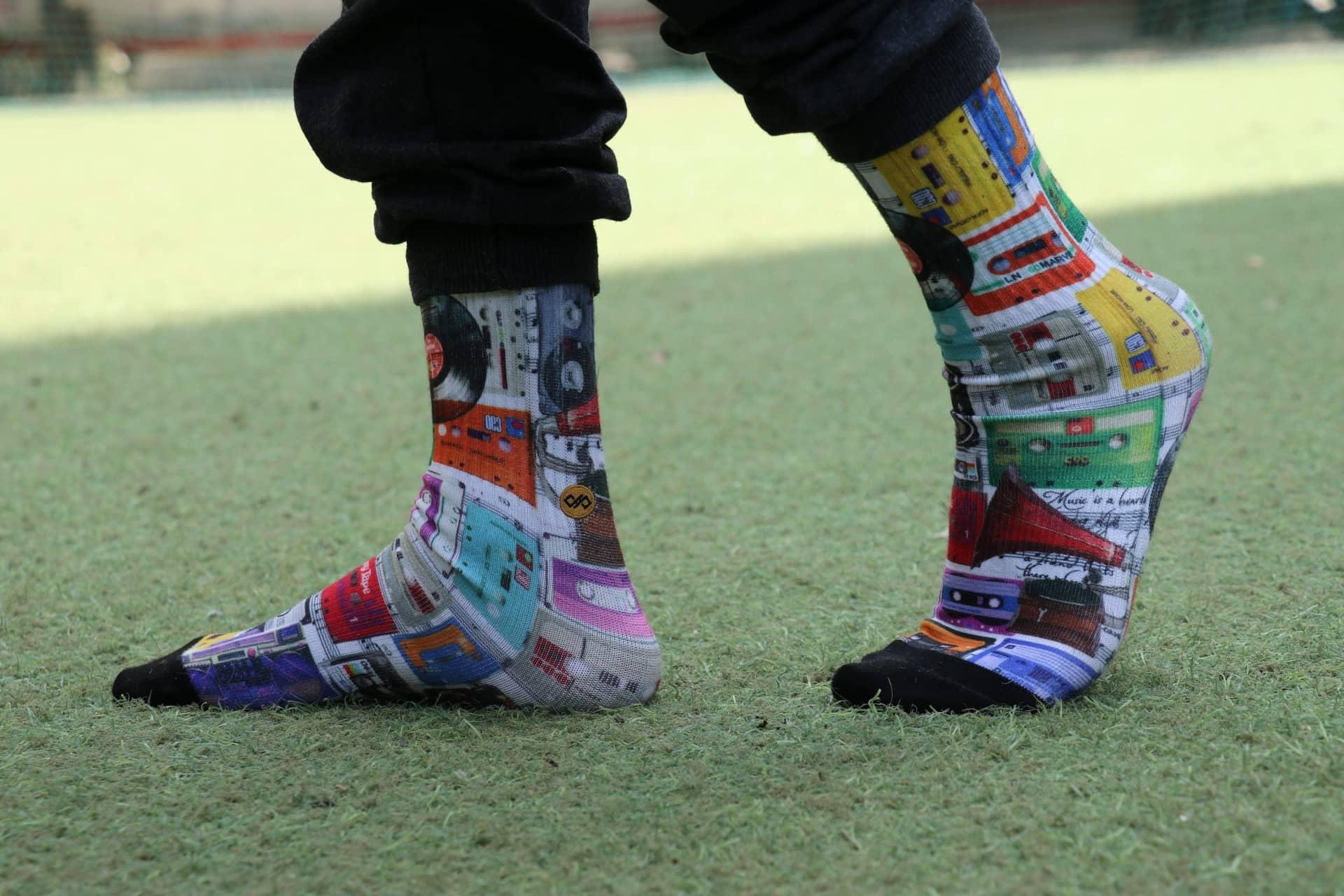 Dynamocks Cassettes socks for men & women