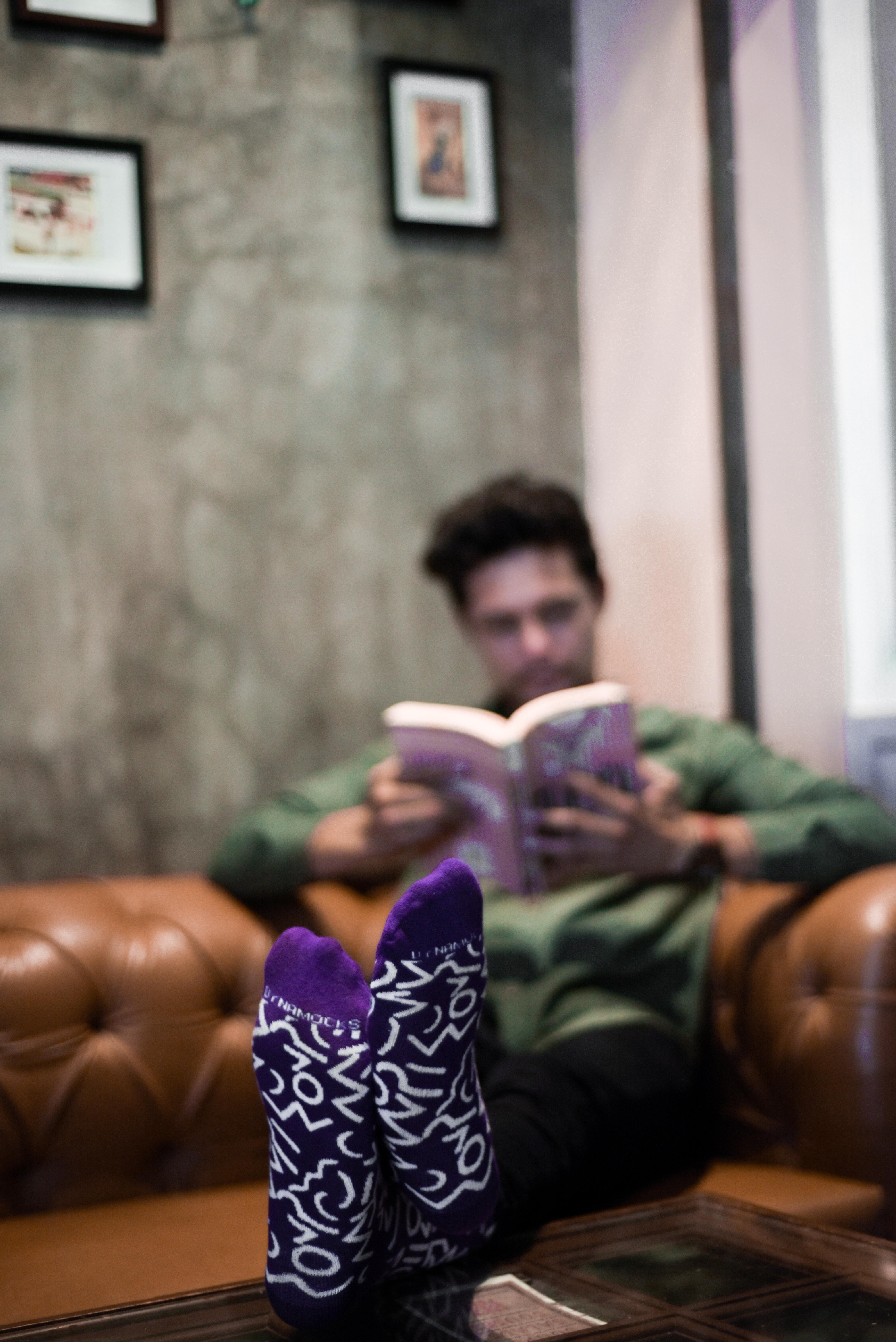 Dynamocks - Doodle Crew Length Socks