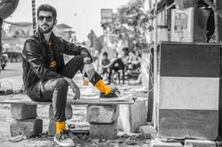 Dynamocks Cutting Chai socks for men & women