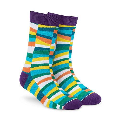 Dynamocks Cotten Excellence Socks | India | Confetti Crew Length Socks R