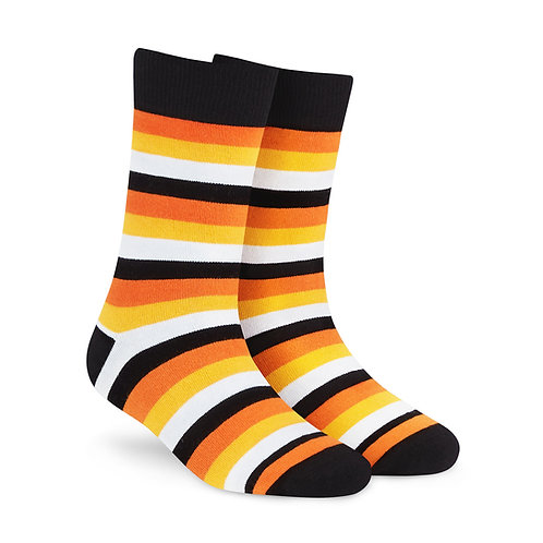 Dynamocks Savvy Excellence Socks | India | Stripes 4.0 Crew Length Socks R
