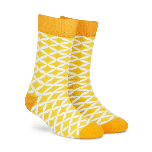 Dynamocks Cotten Excellence Socks | India | Sunshine Crew Length Socks R