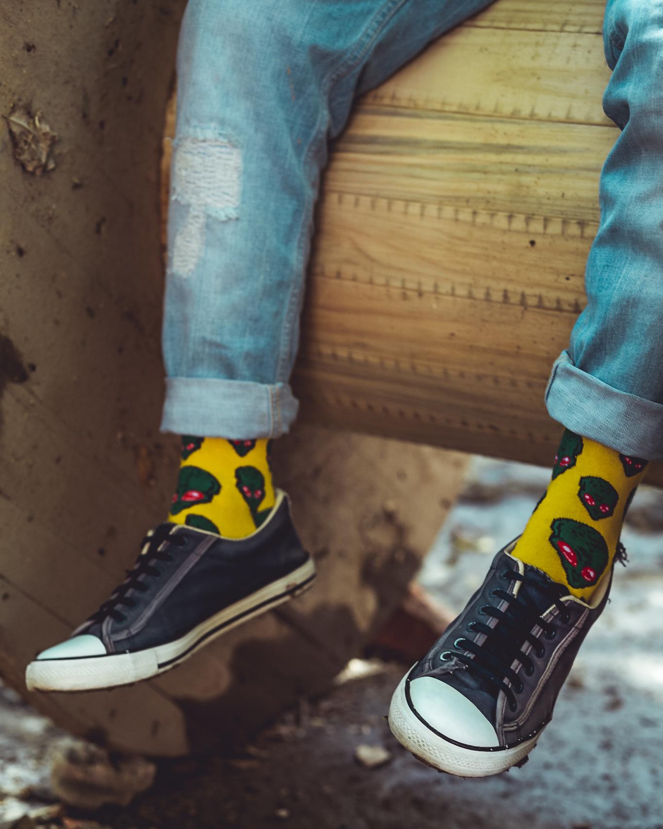 Dynamocks alien socks for men & Women