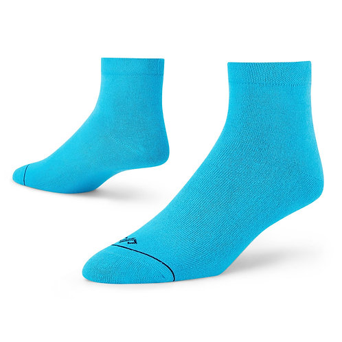 Dynamocks Aqua ankle length socks for men and women