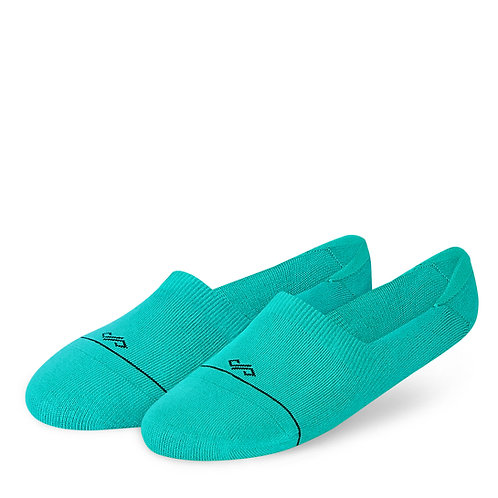 Dynamocks Invisibles Socks | India | Solids Collection | Turquoise
