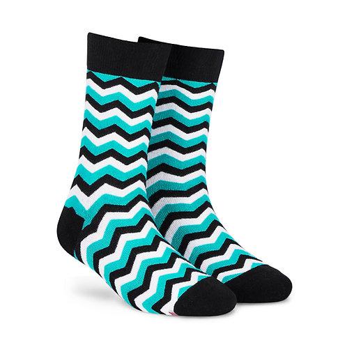 Dynamocks Cotten Excellence Socks | India | Mint Crew Length Socks R
