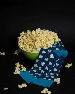 Dynamocks Popcorn Men & Women Crew Length Socks