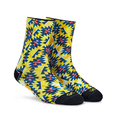 Dynamocks Artistic Socks | India | Waves Crew Length Socks R