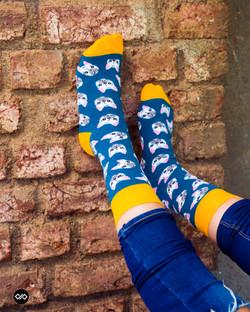 Dynamocks Pub Men & Women Crew Length Socks