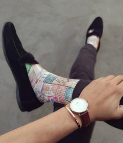 Dynamocks Voyager socks for Men & Women.