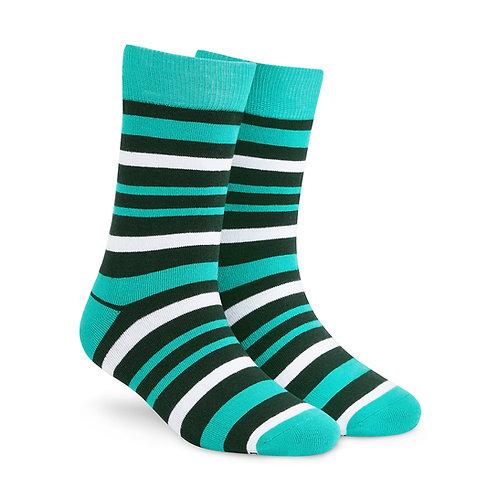 Dynamocks Savvy Excellence Socks | India | Stripes 2.0 Crew Length Socks R