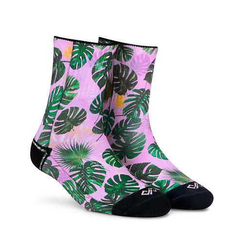 Dynamocks Artistic Socks | India | Tropic Quarter Ankle Length Socks R