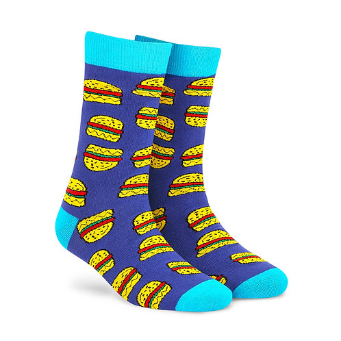 Dynamocks Cotten Excellence Socks | India | Burgers Crew Length Socks R