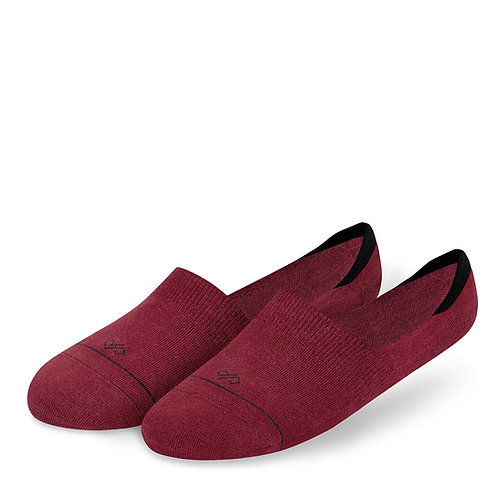 Dynamocks Invisibles Socks | India | Solids Collection | Maroon