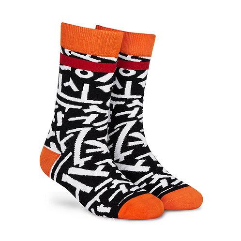 Dynamocks Cotten Excellence Socks | India | Scrawl Crew Length Socks R