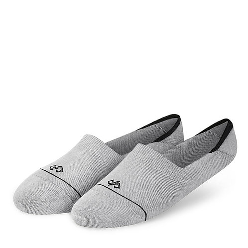 Dynamocks Invisibles Socks   India   Solids Collection   Grey Melange