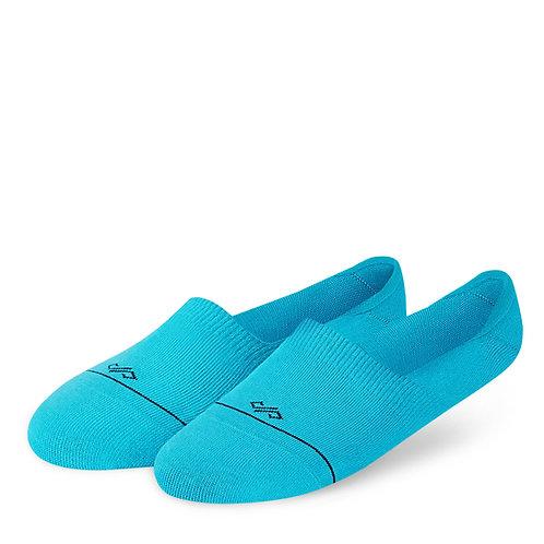 Dynamocks Invisibles Socks | India | Solids Collection | Aqua