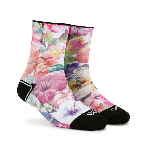 Dynamocks Artistic Socks | India | Exotica Quarter Ankle Length Socks R