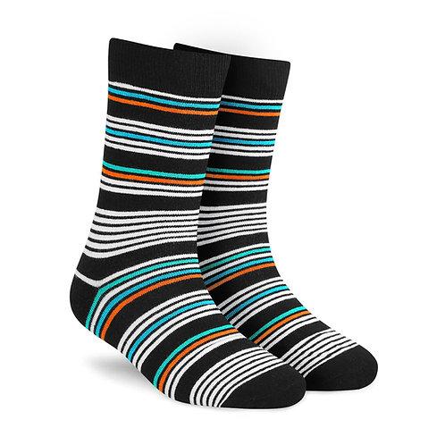 Dynamocks Stripes 6.0 Men & Women crew length socks Image