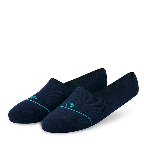 Dynamocks Navy blue loafer socks