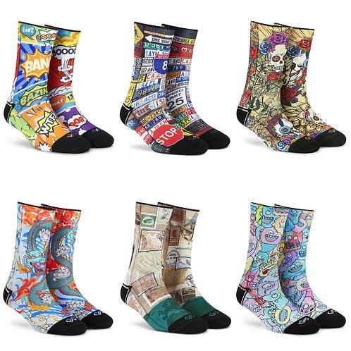 Dynamocks Socks Gift Box for men & Women