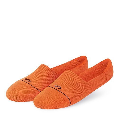Dynamocks Invisibles Socks | India | Solids | Orange