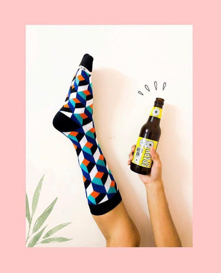 Dynamocks Cube socks for men & women