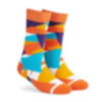 Dynamocks Pizzazz Men & Women Crew Length Socks