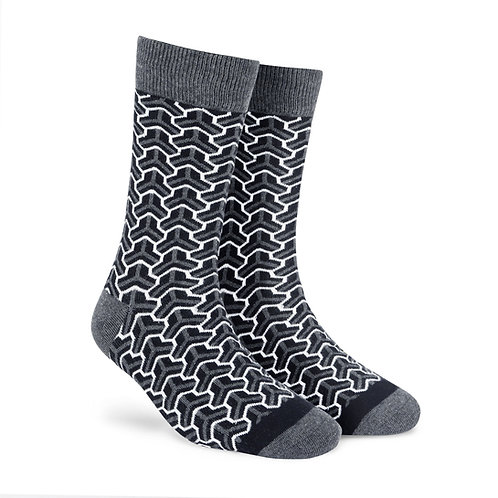 Dynamocks Cotten Excellence Socks | India | Trios Crew Length Socks R