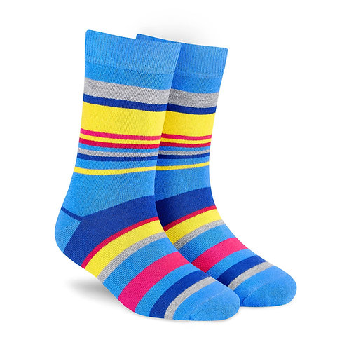 Dynamocks Stripes 5.0 Men & Women crew length socks Image