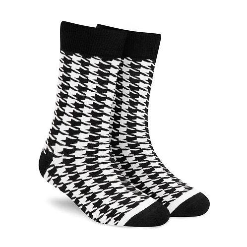 Dynamocks Dandy Houndstooth Crew Length socks for men and women India