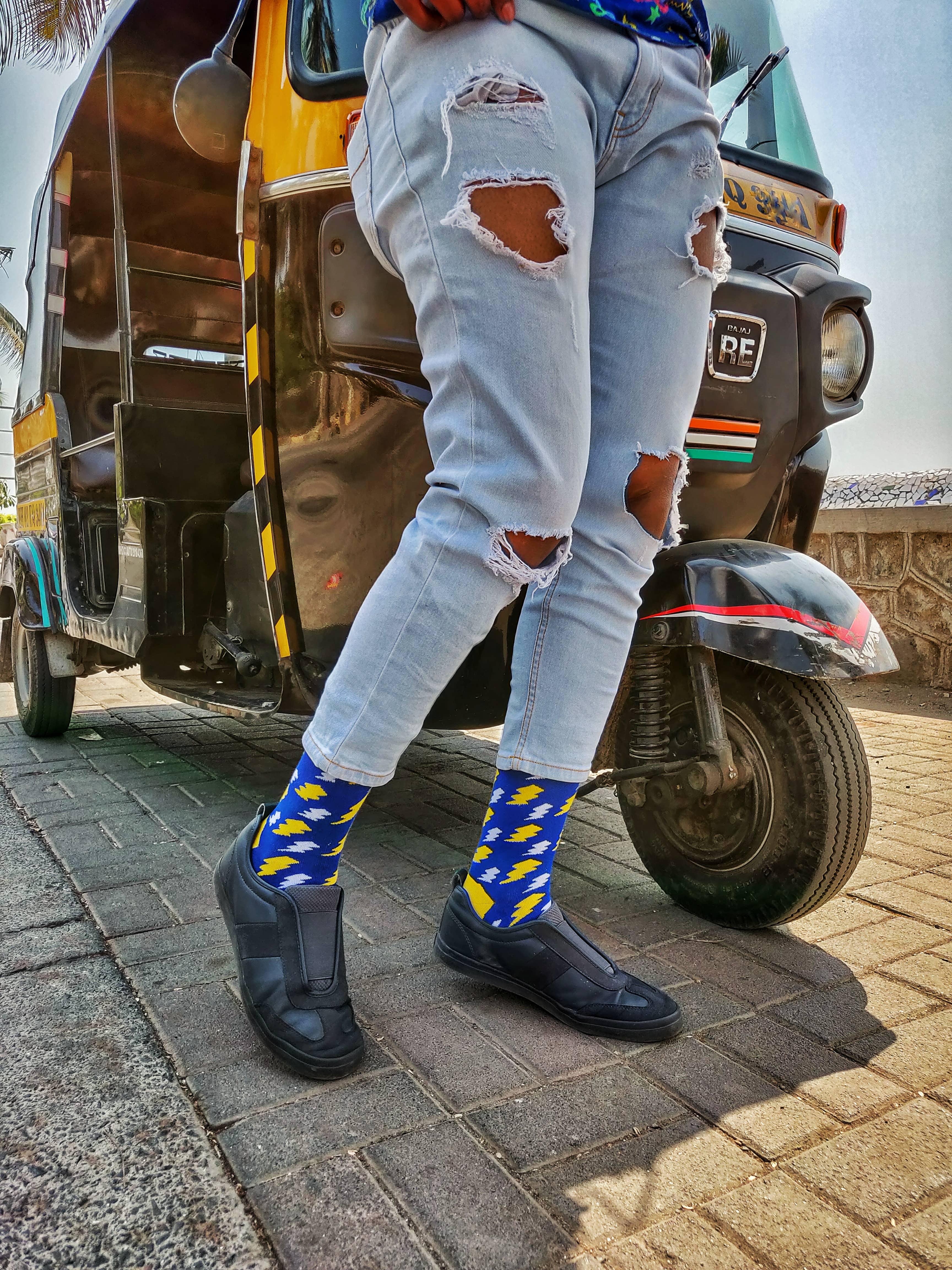 Dynamocks Bolt socks for men & Women