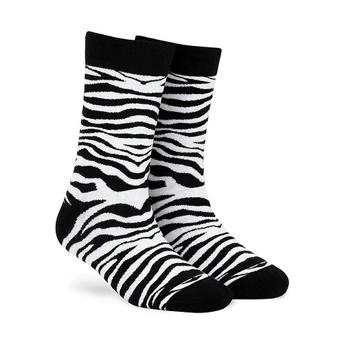 Dynamocks Cotten Excellence Socks | India | Zebra Crew Length Socks R